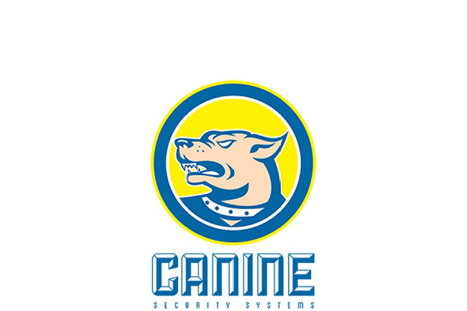 Canine Security Systems Logo in Logo Templates - product preview 8