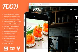 Food - Restaurant WordPress Theme
