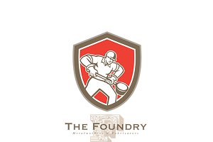 The Foundry Metalworks Logo