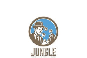 Jungle Performing Arts Logo