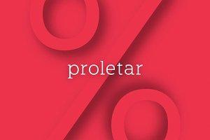 Proletar Typeface
