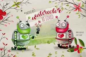 Watercolor Mini Kit - Be Loved