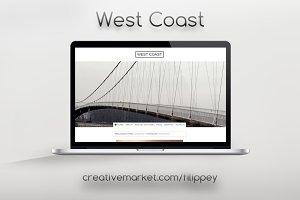 West Coast Tumblr Theme