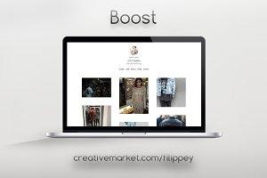 Boost Tumblr Theme