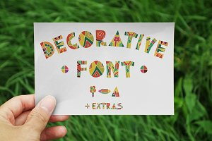 Decorative Fun Font