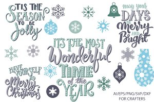 Christmas Cut Files DXF / SVG /EPS