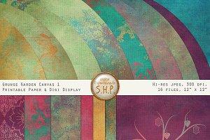 Grunge Garden Texture & Paper Pack