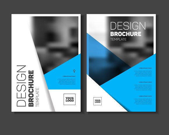 Brochure Template Brochure Templates Creative Market - Template of a brochure