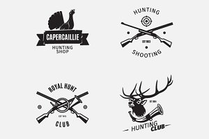 Hunt club logo
