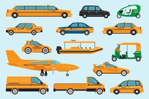 Taxi different types