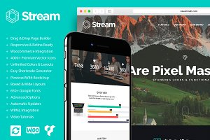 Stream - One Page WordPress Theme