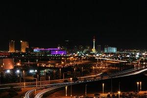 Las Vegas at a distance
