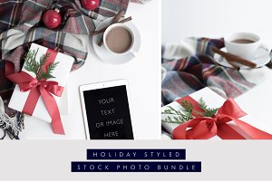 Holiday Stock Bundle Plaid