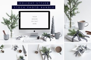 Holiday Stock Bundle Grey