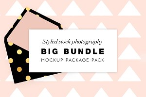 Big bundle - Product mockups