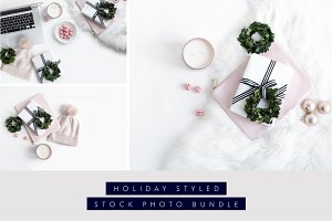 Holiday Stock Bundle Blush