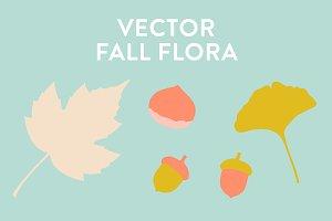 Vector Fall Flora