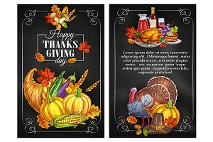 Thanksgiving Day posters