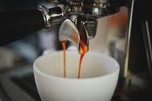 coffee espresso shot