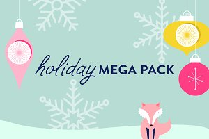 Holiday Vector Mega Pack