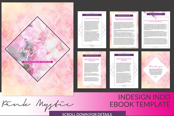 Pink Mystic ID Ebook Template