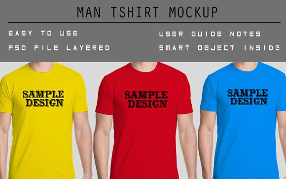 Download Man T Shirt Mockup Free Download Mockup Raglan