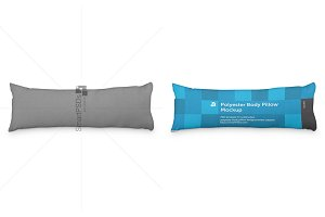 Polyester Body Pillow Cover Design