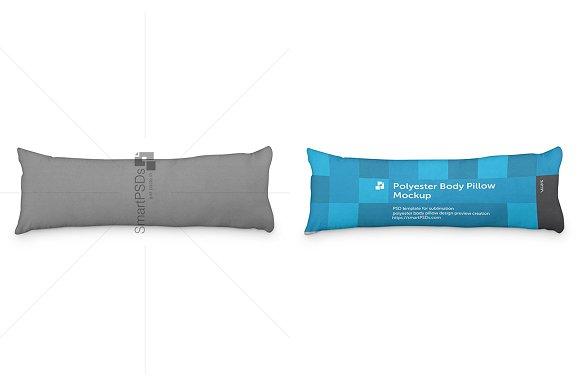 Polyester Body Pillow Cover Design
