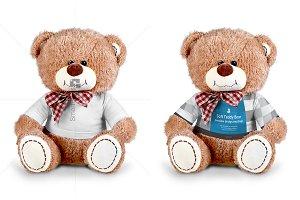 Teddy Bear Dress Design Mockup