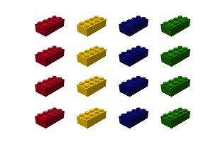 Lego Brick Vector