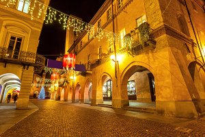 Christmas illuminations in Old Town.