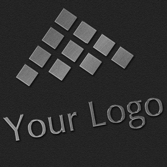 Download Logo Mock-ups - Metal Style