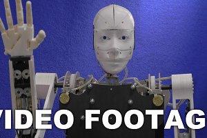 Robot looking around