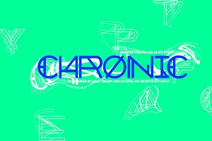 Chronic Typeface