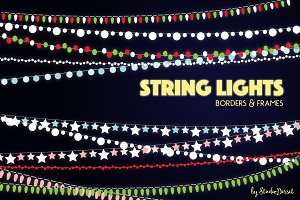 String Lights Cliparts