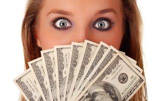 wonder eyes and dollars