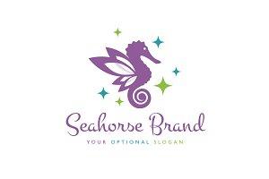 Seahorse Pixie Logo