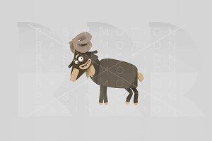 3d illustration. Ram.