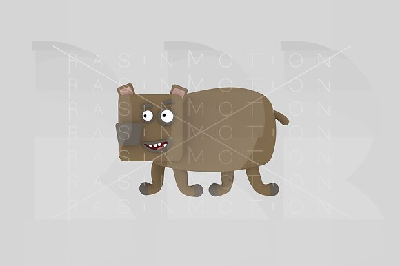 3d illustration. Grizzly. - Illustrations