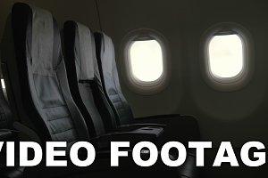 Seen interior decor of plane