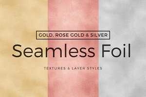 Seamless Gold Textures/Layer Styles