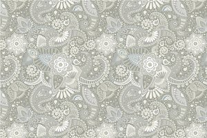 Seamless neutral ethnic patterns