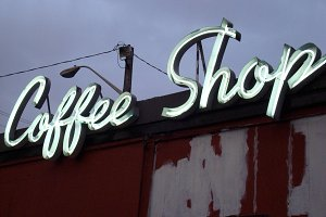 Coffee Shop Neon