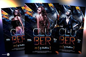 Clubber Flyer Template