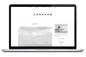 Responsive WP Theme - Caravan
