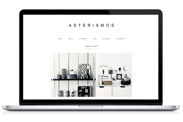 WordPress Photography Themes: Light Morango - Responsive WP Theme - Asterismos