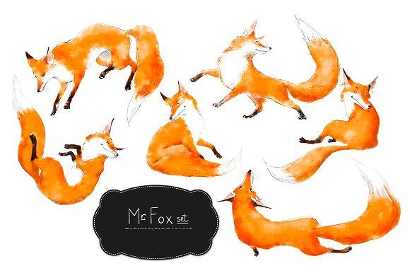Mr. Fox set - Graphics