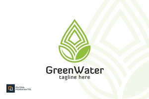 Green Water Logo