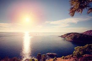 Sunset at andaman sea