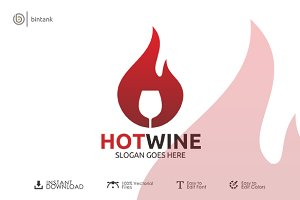Hot Wine Logo
